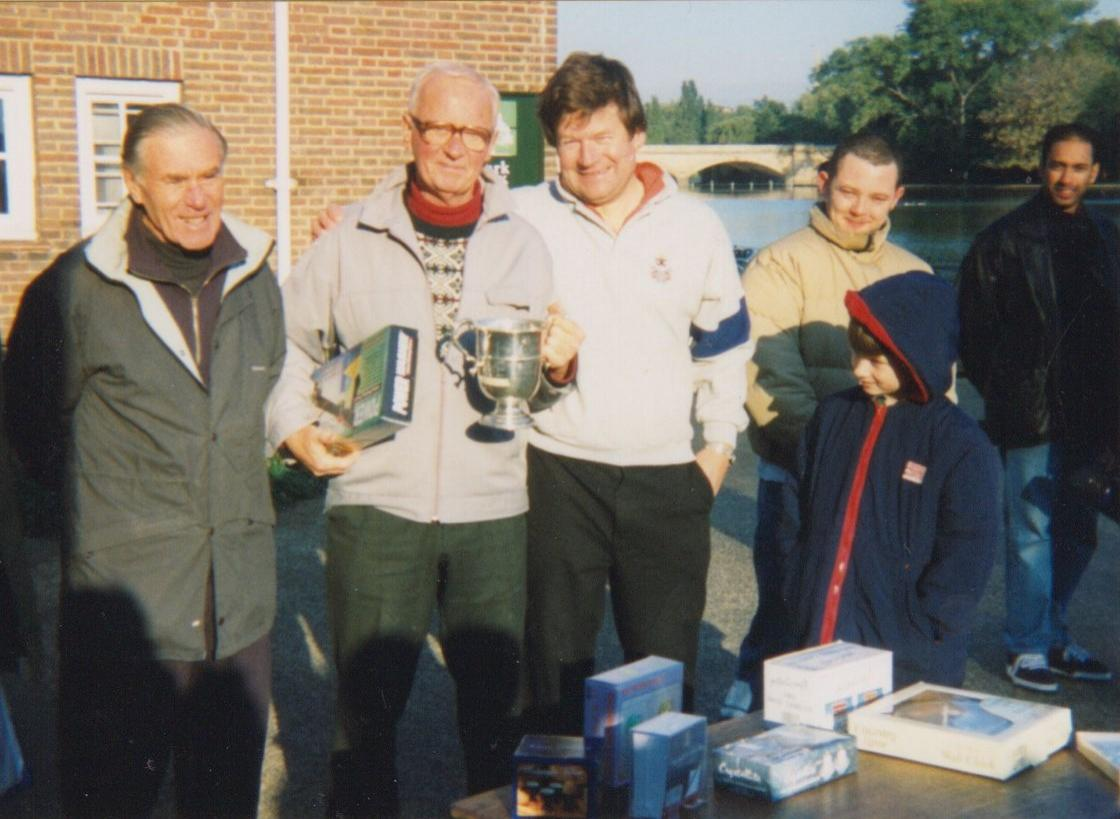 1998 winner, Roy Wrey