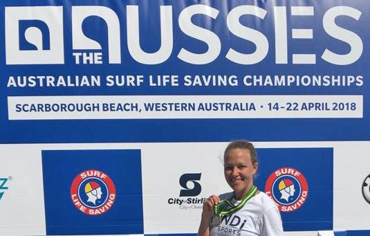Kristy wins coveted Aussie medals and nearby Jason Longgrass was not the Sharkest pencil in the box